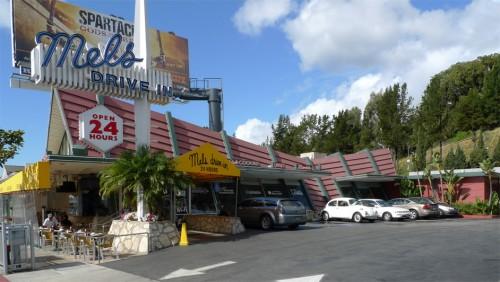 Mel's Diner on the Sunset Strip.