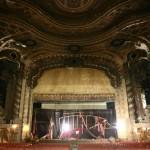 The proscenium arch.
