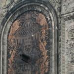Glazed terracotta details.