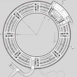 Parking level plan. (Courtesy Foster & Partners)