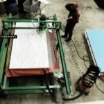 Fabrication1_nonLin/Lin Pavilion_THEVERYMANY