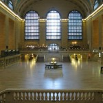 An empty Grand Central Station. (Courtesy MTA/Marjorie Anders)