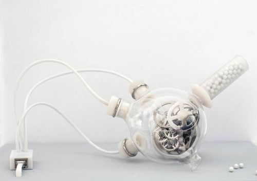 Artificial Biological Clock, Revital Cohen (Courtesy MoMA)