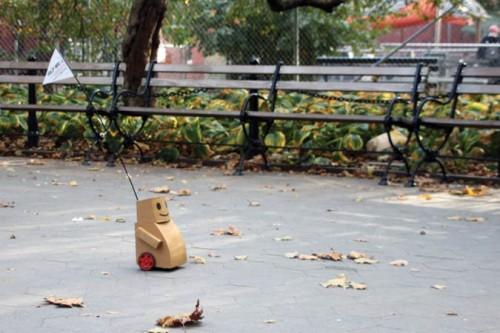 Tweenbots, Kacie Kinzer (Courtesy MoMA)