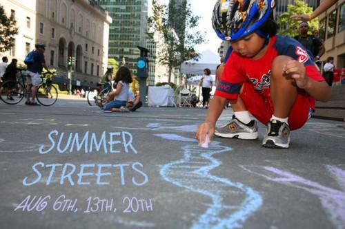 Summer Streets. (Courtesy Transportation Alternatives)