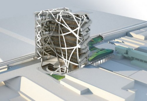 Moss' proposed Jefferson Tower in Culver City