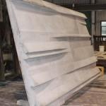First high-density sample panel (Gate Precast)