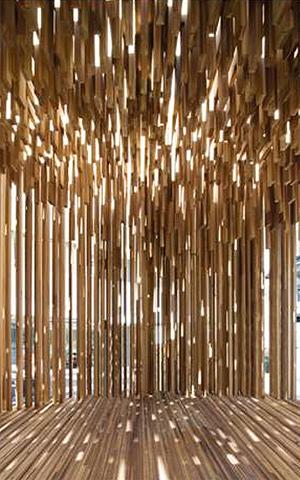 Adjaye's Genesis pavilion. (Courtesy DesignMiami)