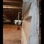 First high density sample panel (Gate Precast)