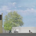 A rendering of the Wulpen Community Center (courtesy So - IL)