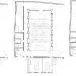 A plan of the Wulpen Community Center (courtesy So - IL)