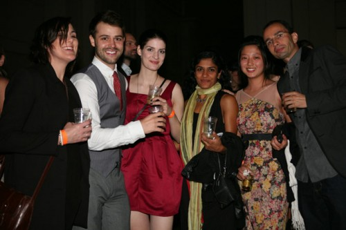 The gang from nArchitects at the Beaux Arts Ball. (Tom Stoelker)
