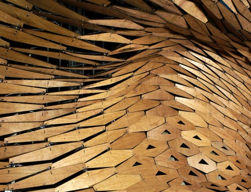 Aggregated Porosity Canopy Digital Architecture