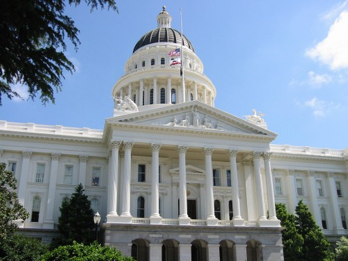 California Capitol Building. (Courtesy jjkbach)