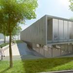 Mizuta Museum forecourt (Studio SUMO)