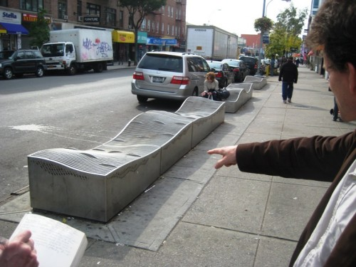 An MTA flood mitigation filter in Queens. (Courtesy Laura Ann Trimble/Center for Architecture)