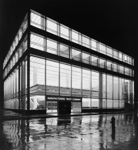 The Manufacturers Trust circa 1954.