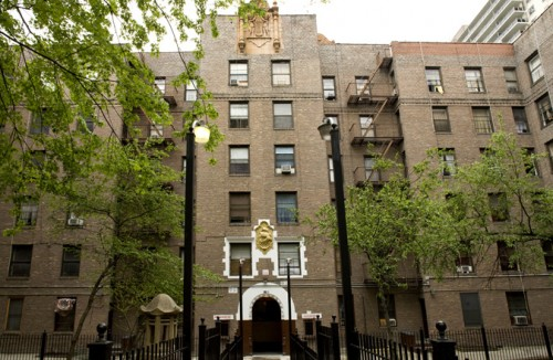 The Thomas Garden Apartments are affordable housing built in 1928 with money from John D. Rockefeller.
