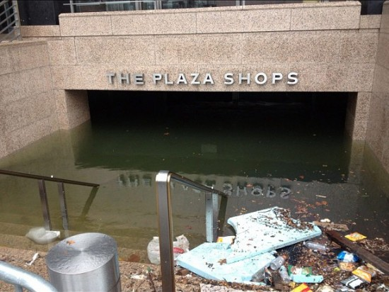 Plaza Shops entrance to the Whitehall Subway Station. (Courtesy Governor Cuomo)