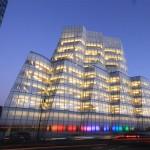 Frank Gehry's IAC Building in Manhattan. (Drew Dies / Flickr)
