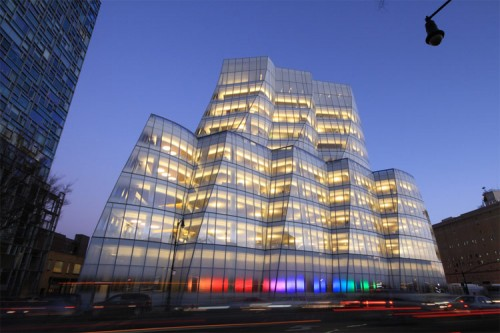 Frank Gehry's IAC Building in Manhattan. (Drew Dies / Flickr)