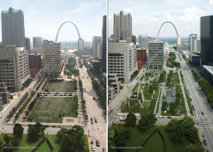 Sculpture city invites dialogue on public art in st for Architect st louis mo