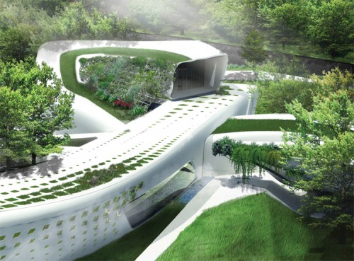 Vegetation House by students from National Chiao Tung University. (Jheng-Ru Li and Chieh-Hsuan Hu)