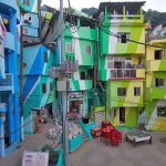 Favela Painting in Rio de Janeiro, Brazil. (Courtesy Haas&Hahn)