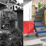 Before and after: Integral Urban Project in caracas, Venezuela. (Courtesy PROYECTOS ARQUI 5 C.A.)