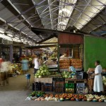 Early Morning Market in Durban, South Africa. (Dennis Gilbert)