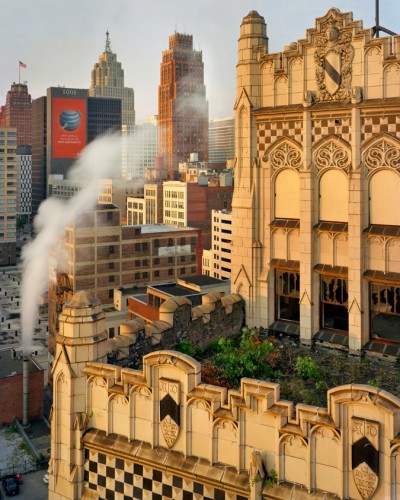 Metropolitan Building and skyline, Downtown, 2008. (Andrew Moore)