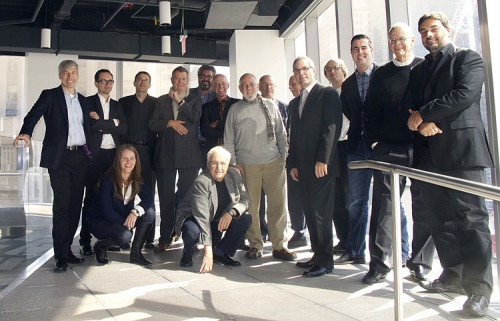 Gehry Technologies' advisory board. (Courtesy Gehry Technologies)