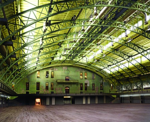 erzog & de Meuron's rendering of the slightly altered, vastly improved Drill Hall. (Courtesy Herzog & de Meuron).