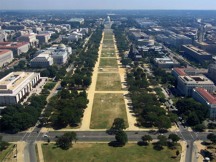 Stage 1 finalists announced for national mall design competition for Department of interior jobs washington dc