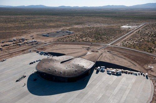 The Virgin Galactic Spaceport by Foster + Partners. (Nigel Young / Foster+Partners)
