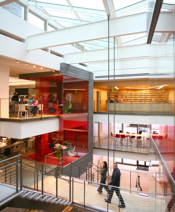 Gensler 39 S New Los Angeles Digs Filled With Energy