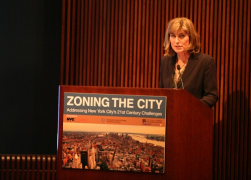 """Community Solution's Rosanne Haggerty tells the crowd """"We are making bad decisions."""""""