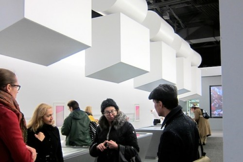 Kracauer and crew inside the WXY designed space.