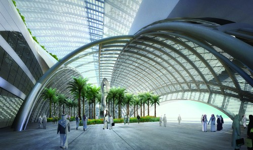 King Abdullah Petroleum Studies and Research Center (Courtesy AIA Chicago)