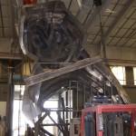 Fabrication of the interior structure (Kreysler & Associates)