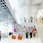 BIG's design for the University of Jussieu in Paris. (Courtesy BIG)