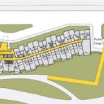 Site plan from the WASA/Studio A / Two Trees proposal.