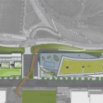 Site plan from the CDA / RAL proposal.