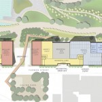 Site plan from the Beyer Blinder Belle / Extell proposal.