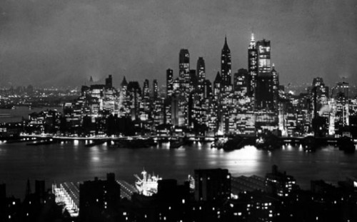Lower Manhattan in 1961, the year of the city's landmark zoning resolution (Courtesy City Planning)