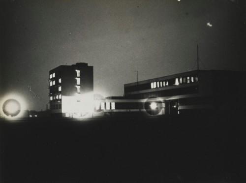 Bauhaus, March 22, 1929. Photo by Lyonel Feiniger.