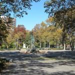 The Bailey Fountain inside Grand Army Plaza. (Branden Klayko)