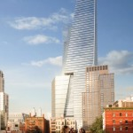 Hudson Yards viewed from the south. (Courtesy KPF)