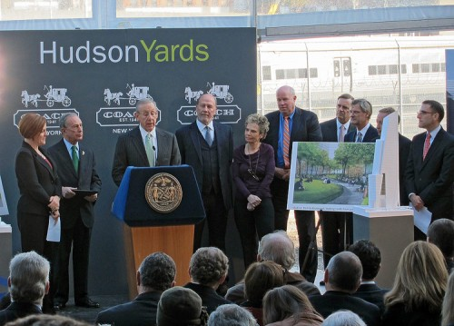 Related CEO Stephen Ross talks about Hudson Yards. (Branden Klayko)