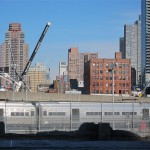 Hudson Yards viewed from under the High Line. (Branden Klayko)